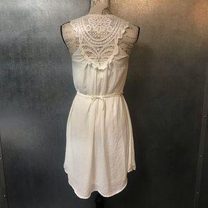 SOLD H&M White Crochet Dress